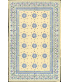 RugStudio presents Nourison Country Heritage H-660 Yellow Hand-Hooked Area Rug