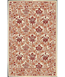 RugStudio presents Nourison Country Heritage H-664 Ivory Red Hand-Hooked Area Rug