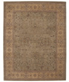 RugStudio presents Nourison Heritage Hall HE-02 Green Hand-Knotted, Better Quality Area Rug