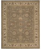 RugStudio presents Nourison Heritage Hall HE09 Olive Hand-Tufted, Best Quality Area Rug