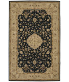 RugStudio presents Nourison Heritage Hall HE10 Black Hand-Tufted, Best Quality Area Rug