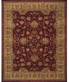 RugStudio presents Nourison Heritage Hall HE11 Burgundy Hand-Tufted, Best Quality Area Rug