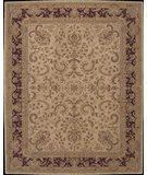 RugStudio presents Nourison Heritage Hall HE12 Beige Hand-Tufted, Best Quality Area Rug