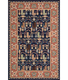 RugStudio presents Nourison Heritage Hall HE17 navy Hand-Tufted, Best Quality Area Rug