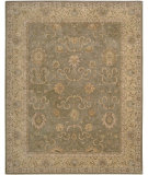 RugStudio presents Nourison Heritage Hall HE20 Green Hand-Tufted, Best Quality Area Rug