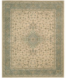 RugStudio presents Nourison Heritage Hall HE21 Beige Hand-Tufted, Best Quality Area Rug