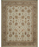 RugStudio presents Nourison Heritage Hall HE-22 Aqua Hand-Knotted, Good Quality Area Rug