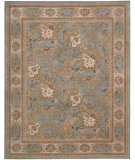 RugStudio presents Nourison Heritage Hall HE25 Blue Hand-Tufted, Best Quality Area Rug