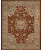 RugStudio presents Nourison Heritage Hall HE-26 Rust Machine Woven, Best Quality Area Rug