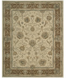 RugStudio presents Nourison Heritage Hall HE-27 Mist Hand-Knotted, Better Quality Area Rug