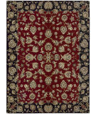 RugStudio presents Nourison Hamilton House HH-03 Burgundy Machine Woven, Best Quality Area Rug
