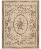 RugStudio presents Nourison Heritage Savonnerie HS-01 Beige Hand-Tufted, Best Quality Area Rug