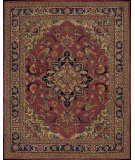 RugStudio presents Nourison India House IH-02 Rust Hand-Tufted, Good Quality Area Rug