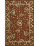 RugStudio presents Nourison India House IH-64 Rust Hand-Tufted, Good Quality Area Rug