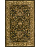 RugStudio presents Nourison India House IH-67 Green Hand-Tufted, Good Quality Area Rug