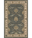 RugStudio presents Nourison India House IH-75 Blue Hand-Tufted, Good Quality Area Rug