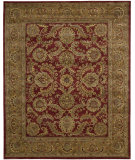 RugStudio presents Nourison Jaipur JA-17 Burgundy Hand-Tufted, Best Quality Area Rug