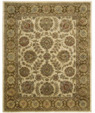 RugStudio presents Nourison Jaipur JA-31 Ivory-Brown Hand-Tufted, Best Quality Area Rug