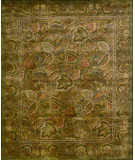 RugStudio presents Nourison Jaipur JA-40 Green Hand-Tufted, Better Quality Area Rug