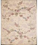 RugStudio presents Nourison Julian JL-01 Beige Hand-Tufted, Good Quality Area Rug