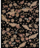 RugStudio presents Nourison Julian JL-01 Black Hand-Tufted, Good Quality Area Rug
