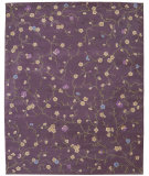 RugStudio presents Nourison Julian JL-27 Lavender Hand-Tufted, Better Quality Area Rug