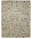 RugStudio presents Nourison Julian JL-36 Light Green Hand-Tufted, Better Quality Area Rug