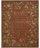 RugStudio presents Nourison Julian JL-57 Persimmon Hand-Tufted, Better Quality Area Rug