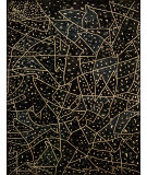 RugStudio presents Nourison Kalahari KL01 Black Hand-Tufted, Good Quality Area Rug