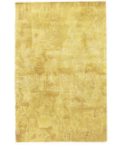 RugStudio presents Nourison Kalahari KL05 Gold Hand-Tufted, Best Quality Area Rug