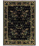 RugStudio presents Nourison Legacy LE-10 Black Hand-Knotted, Good Quality Area Rug