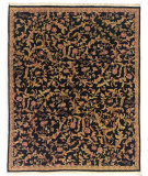 RugStudio presents Nourison Legacy LE-46 Black Hand-Knotted, Better Quality Area Rug