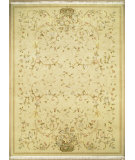 RugStudio presents Nourison Legacy LE-80 Beige Hand-Knotted, Better Quality Area Rug