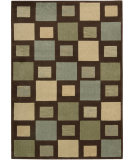 RugStudio presents Nourison Loft LF-01 Brown Machine Woven, Good Quality Area Rug