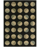 RugStudio presents Nourison Loft LF-03 Black Machine Woven, Better Quality Area Rug