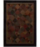 RugStudio presents Nourison Loft LF-04 Black Machine Woven, Good Quality Area Rug