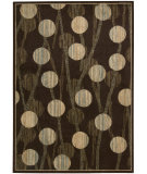 RugStudio presents Nourison Loft LF-11 Brown Machine Woven, Better Quality Area Rug