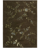 RugStudio presents Nourison Modern Elegance LH-06 Brown Hand-Tufted, Best Quality Area Rug