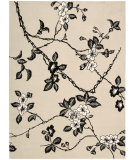 RugStudio presents Nourison Modern Elegance LH-08 Black-Ivory Hand-Tufted, Best Quality Area Rug