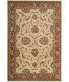 RugStudio presents Nourison Living Treasures LI-04 Ivory-Red Machine Woven, Best Quality Area Rug