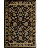 RugStudio presents Nourison Living Treasures LI-05 Black Machine Woven, Best Quality Area Rug