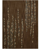 RugStudio presents Nourison Radiant Impressions LK-04 Brown Machine Woven, Best Quality Area Rug