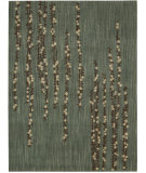 RugStudio presents Nourison Radiant Impressions LK-04 Teal Machine Woven, Best Quality Area Rug