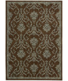 RugStudio presents Nourison Radiant Impressions LK-08 Brown Machine Woven, Best Quality Area Rug