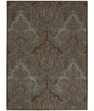RugStudio presents Joseph Abboud Majestic Maj01 Teal Chocolate Machine Woven, Good Quality Area Rug
