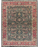 RugStudio presents Nourison Milennia MI-20 Green Flat-Woven Area Rug