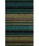 RugStudio presents Nourison Mystique MY-07 Teal Hand-Tufted, Best Quality Area Rug
