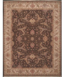 RugStudio presents Nourison Ancestry NA-01 Brown Hand-Knotted, Best Quality Area Rug