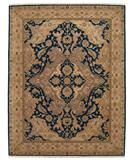 RugStudio presents Nourison Ancestry NA-02 Midnight Hand-Knotted, Best Quality Area Rug