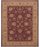 RugStudio presents Nourison Ancestry NA-04 Wine Hand-Knotted, Best Quality Area Rug